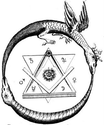 Simbol cosmic alchimic