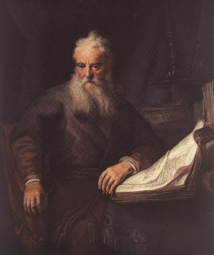 Apostolul Paul - tablou de Rembrandt