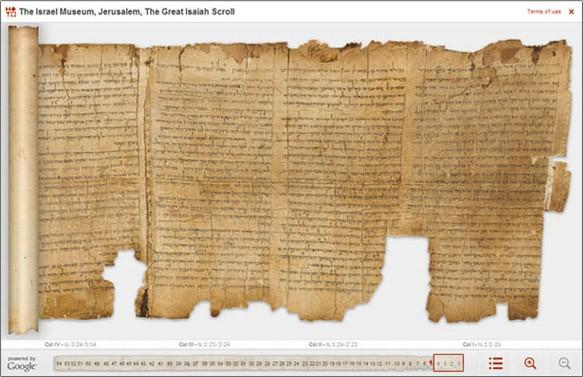 Fragmente din manuscrisele de la Marea Moarta