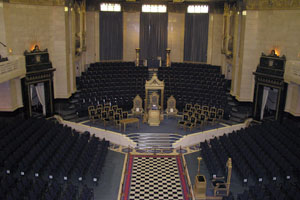 Freemasons Hall - interior