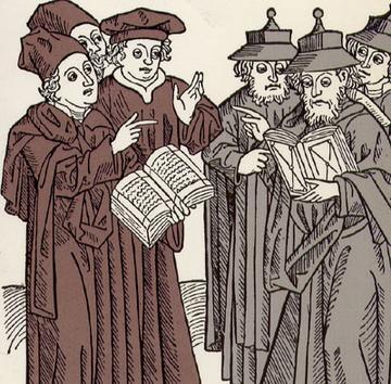 Disputa teologica intre invatatii crestini si evrei