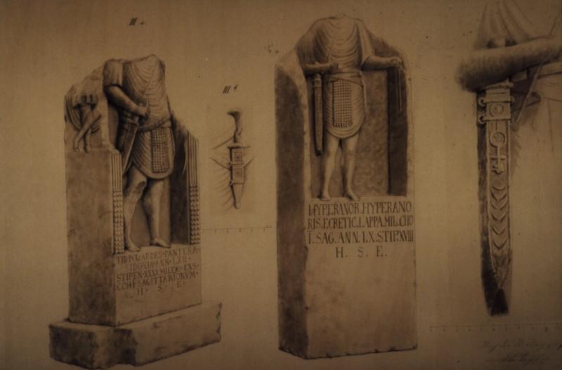 Mormantul lui Tiberius Iulius Abdel Pantera, presupusul tata al lui Iisus