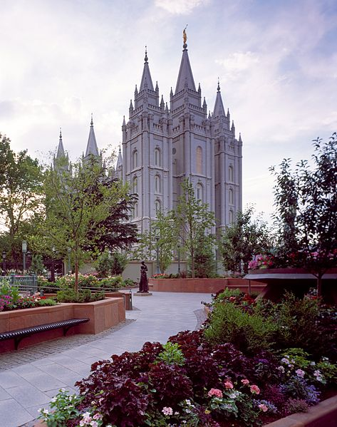 Templul mormon din Salt Lake City, Utah