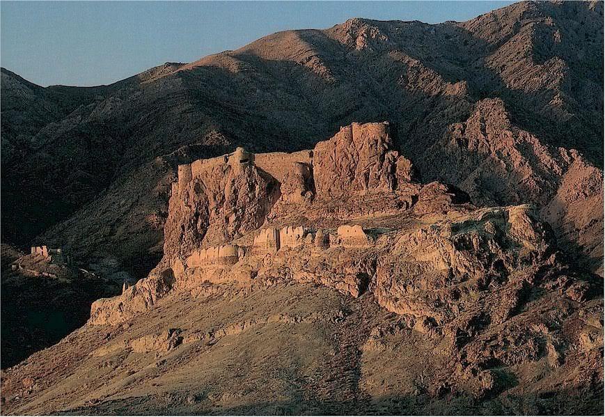 Ruinele fortaretei Alamut